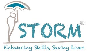 Storm Skill Training Logo - Willowlace Ltd Suicide Prevention and Support